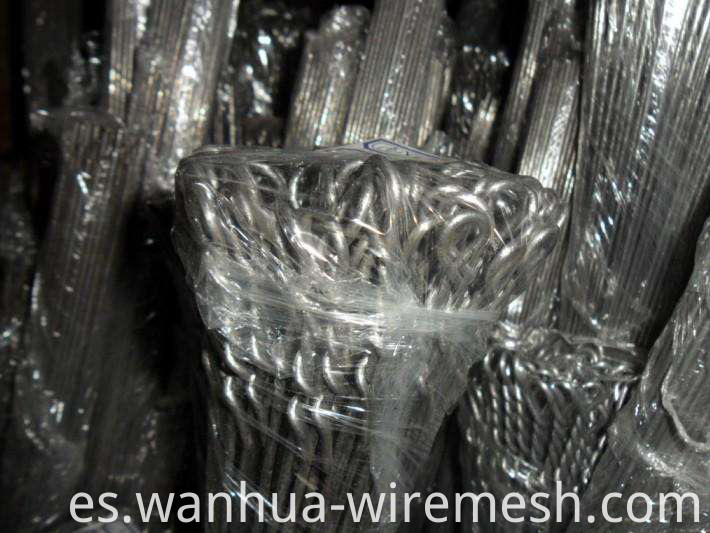 Galvanized Wire Quick link Bale Ties (1)