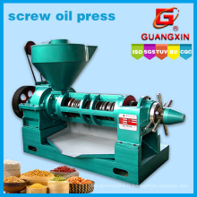 Machine d'expulsion d'huile à semences Huile spirale Presser Yzyx130