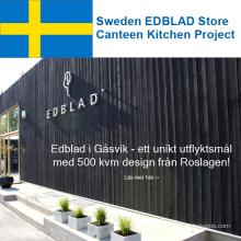 Schweden EDBLAD Store Canteen Kitchen Project