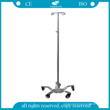 AG-Ivp001 Hôpital IV tige en acier inoxydable