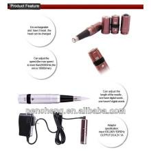 Machine de maquillage numérique rechargeable à la main à sourcil à main