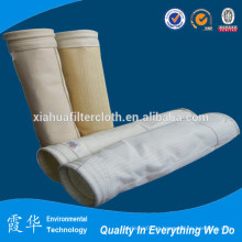 Saco de filtro de fibra de aramida na indústria siderúrgica