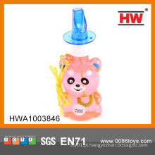 Brinquedo plástico verde da água da bolha da venda quente para miúdos