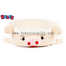 Plüsch gefüllte Schwein Form Haustierbett für Welpen Katze Hund Bosw1095 / 45X40X13cm