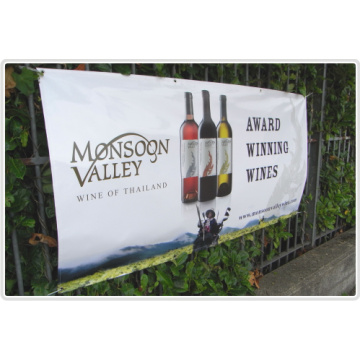 Economical Customed PVC Banner for Advertising with Rope