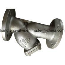 Extremidades flangeadas do filtro em Y com aço inoxidável