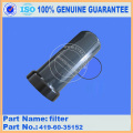 WA320-5 filter 419-60-35152 komatsu wheel loader parts