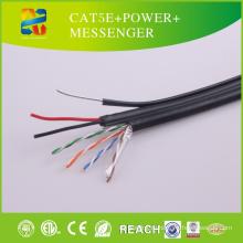 2015 Китай горячая распродажа кабель UTP кабель cat5e+питание+Посланник
