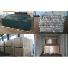 3D Fence Panel med Post Wire Mesh Fence