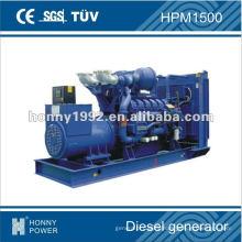 1100kW conjunto de generador diesel, HPM1500, 50Hz