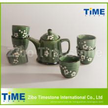 Keramik Steinzeug handbemalt Grace Korea Tee Set Preis