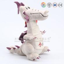 Design personalizado de pelúcia e dragão de pelúcia voando dragão azul recheado de brinquedo de pelúcia