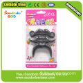 Beard Shape Eraser Topper Cute Cap Erasers