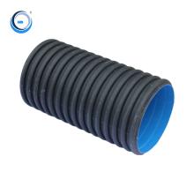Manufacture Hdpe Polyethylene Water Pipe  Large Diameter Plastic Tubes Corrugated Drainage  Pipe