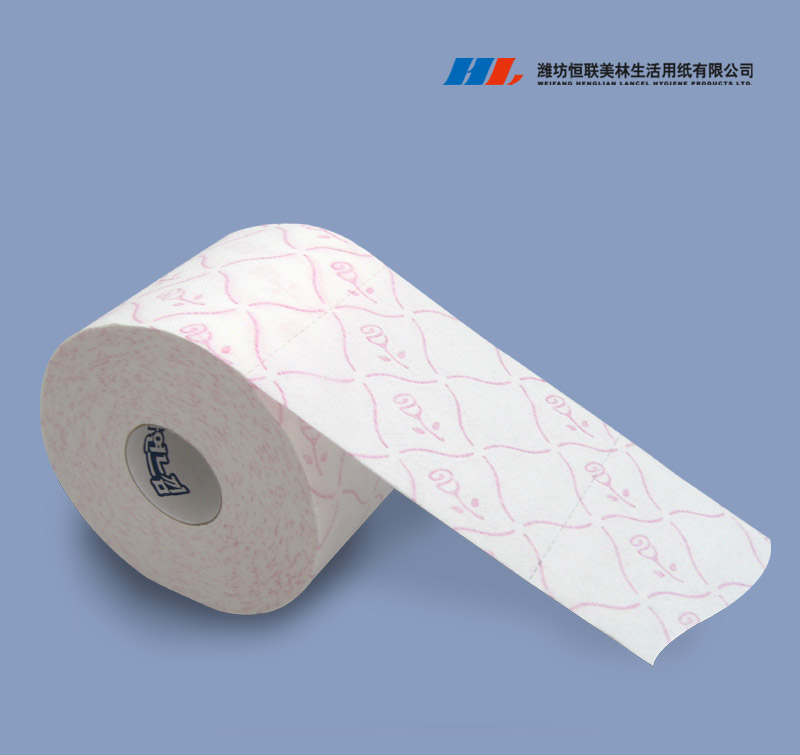 Bathroom Tissue Paper Roll