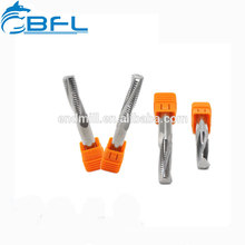 Carbon Cnc Customized Thread Tapping Machine Aluminum Cutter Bits Spiral Fluted Taps 45 Helix End Mill
