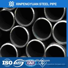 Tubo de aço xxs laminado a quente e tubo na Índia com 106 / a53 gr.b