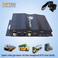 GPS Smart Tracker with Speed Limiter, Camera, Fuel Sensor (TK510-KW)