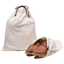 Promotion Cotton Breathable Dust-proof Drawstring Storage Pouch Bag