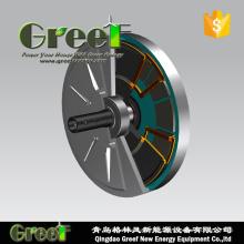 48/120/220/240V Coreless gerador para uso de turbina de vento de eixo Vertical