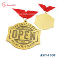 Golden Opening Ceremony Metal Medal