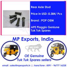 Exporters of Tuk tuk Spares Rear Axle Stud Ape Piaggio