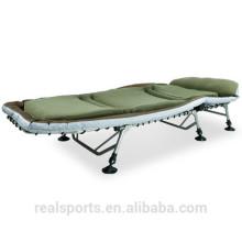 Cama de acampamento ajustável para o preço de cama de dobramento único dos adultos