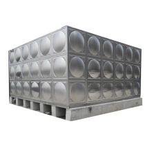 Réservoir de stockage d'eau d'équipement de stockage d'acier inoxydable