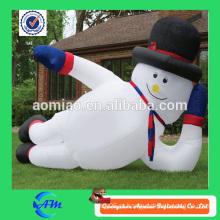Decoração inflável gigante inflável do Natal do boneco de neve do boneco de neve inflável maciço à venda