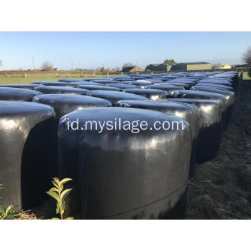 Black Silage Stretch Film dengan 750mm