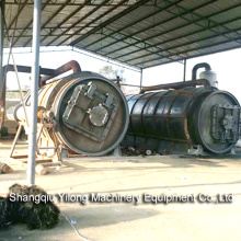 Pyrolysis of Waste Rubber Tyres Management