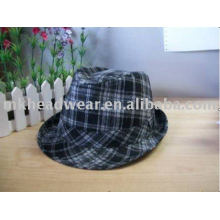 Мода в стиле фетровых шляп / трилби