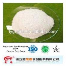 TKPP, pirofosfato de potássio de qualidade alimentar - emulsionante, melhorador de qualidade, conservante fresco, conservação de água,