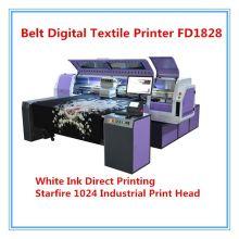 Imprimante d'encre blanche d'imprimante de textile de Digital