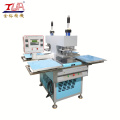 Hot sell clothes garment embossing logo machine textile