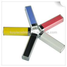 Bateria portátil do banco da potência de 2600mAh mini para iphone4 / 5 / Samsung / HTC