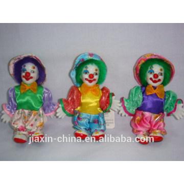 Palhaços de porcelana de decoração