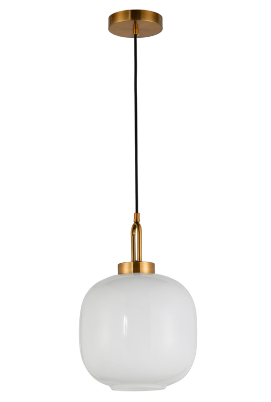 Glass Indoor White Lamp