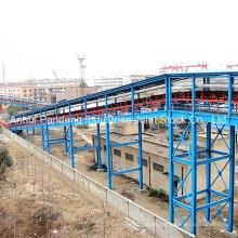 Sistema transportador / Sistema de cinta transportadora / Gran inclinación hacia arriba Transportador de cinta