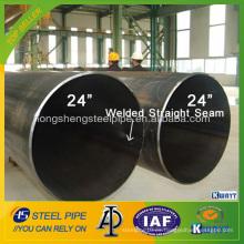 Diámetro grande API 5L X70 PSL2 LSAW Tubo de acero