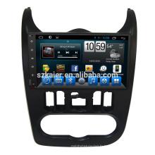 Android 6.0 Fabricant 9 '' Lecteur DVD de voiture Multimédia pour Renault Logan / Sandero / Duster 2015 2016 Google Google Play USB GPS DVB-T