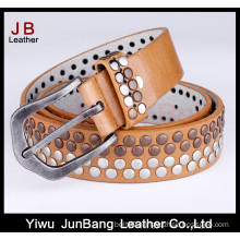 Hot Sale Handcrafted Studded Rivet Womens PU Belts