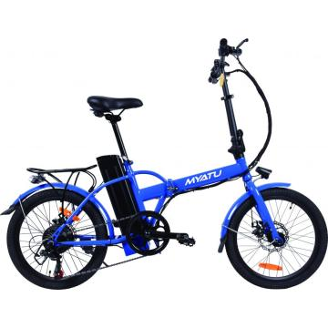 20 Zoll Fat Tire E-Bike mit Lithium-Batterie