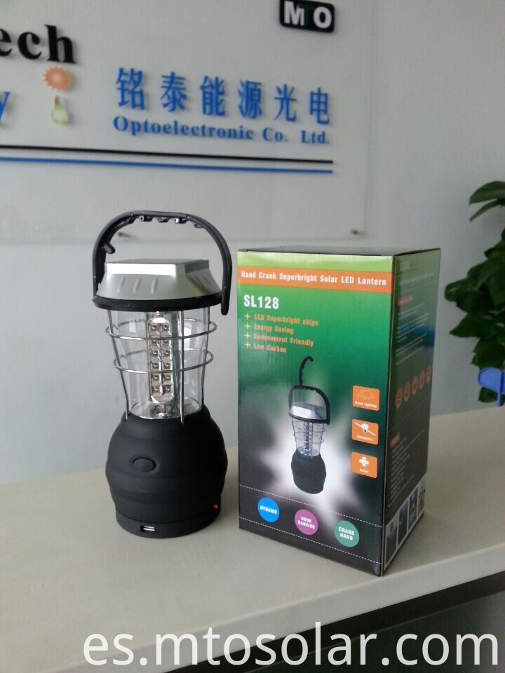 36pcs LED Chips Solar Lantern