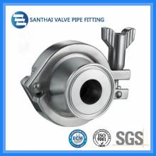 Wenzhou Sanitária aço inoxidável Ss304 válvula de retorno não