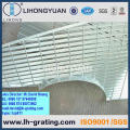 Rejillas de acero galvanizadas para piso y pasarelas