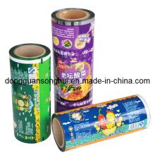 Embalagem de macarrão instantâneo Película / filme de rolo de macarrão / filme de alimento plástico