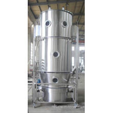 2017 LDP series Fluid bed coater, SS electrostatic fluidized bed powder coating equipment, flow material heavy duty granulator