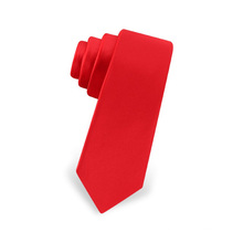 Gros Mens Polyester rouge pas cher Donald Trump Ties