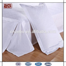 100% Cotton 60s 300TC Plain Pillow Cover Cheap White Pillowcase for Hotel Used